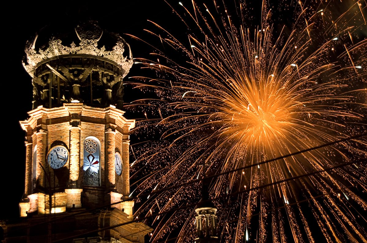 Christmas in Vallarta-New Year's Fireworks