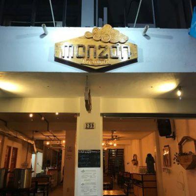 Entrance to Monzon Brewing Co.