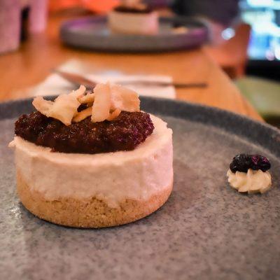 Cheesecake Blueberry Pie