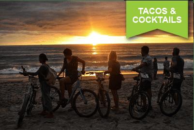 Tragos y Tacos Sunset Bike Tour